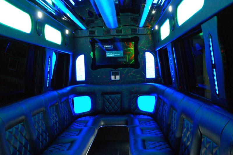 Mercedes sprinter van rentals san diego party bus rentals for Mercedes benz party bus rental